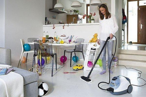 счастье и чистый дом