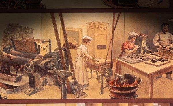 шоколад и производство