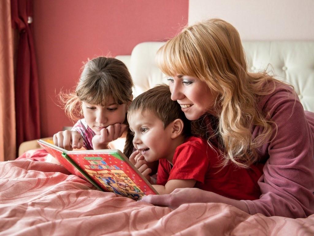 семейные традиции - совместное чтение книг