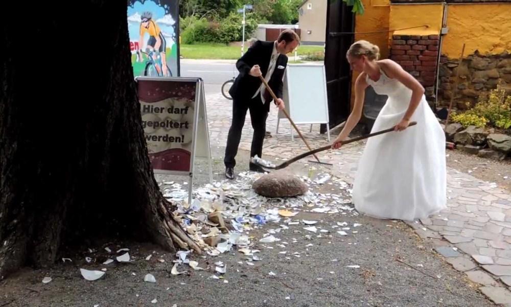 свадебный обычай в Германии