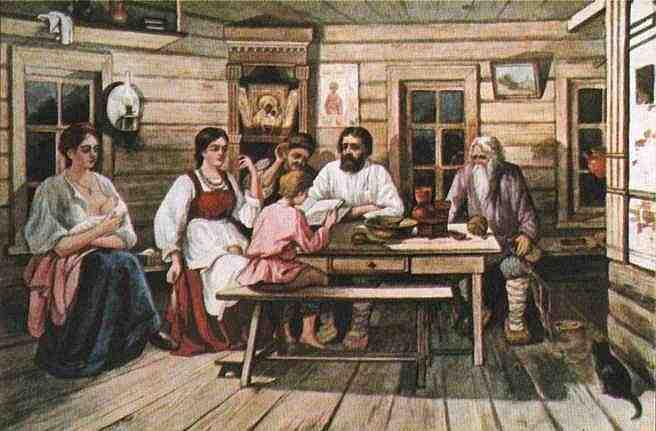 семейные традиции - семейные советы на Руси