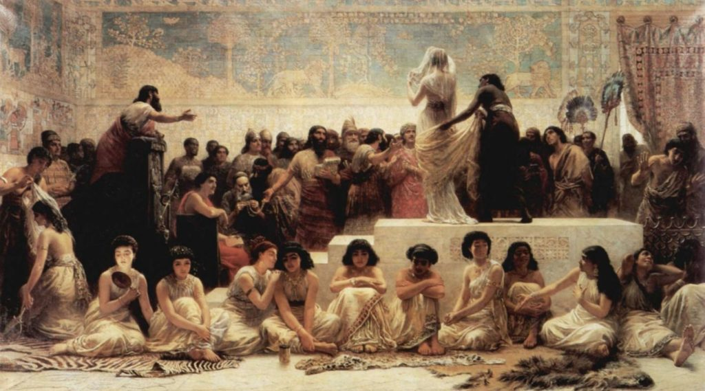 секс и брак в древности