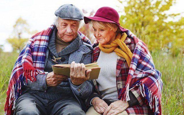 старость и чтение книг
