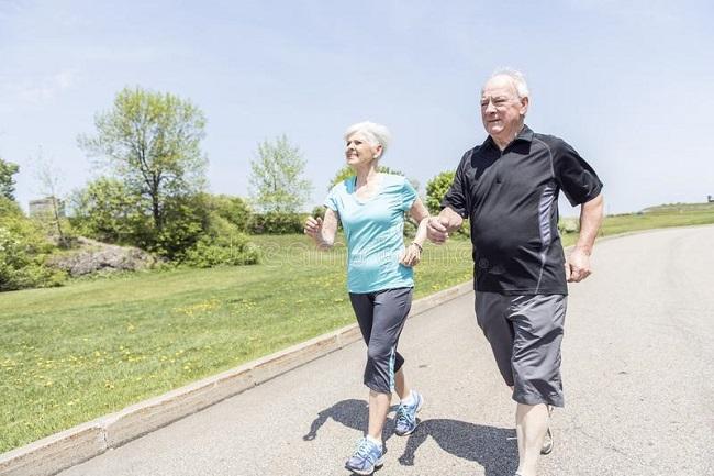 лёгкий бег для стариков