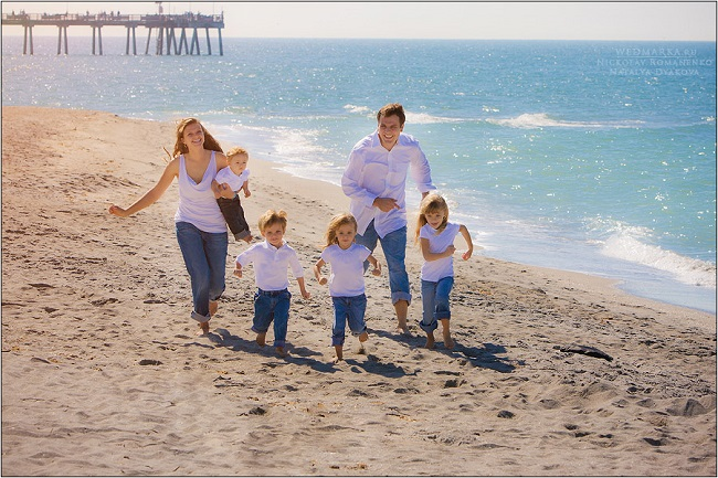 семья - это счастливые люди