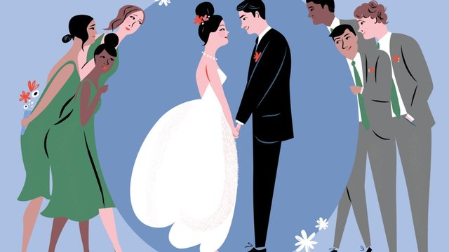 счастливые люди в браке