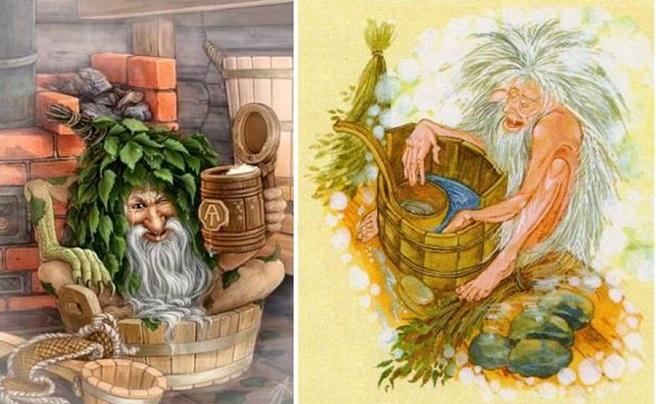 старичок в бане
