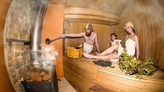семейная русская баня